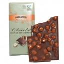 Tablette Chocolat au lait Bio avec noisettes
