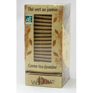 Thé vert au jasmin bio Valdena