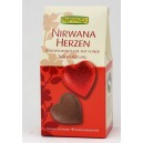 Coeur en chocolat au lait praliné bio et équitable